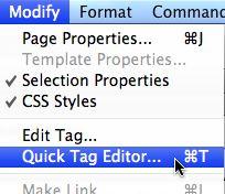 Quick Tag Editor